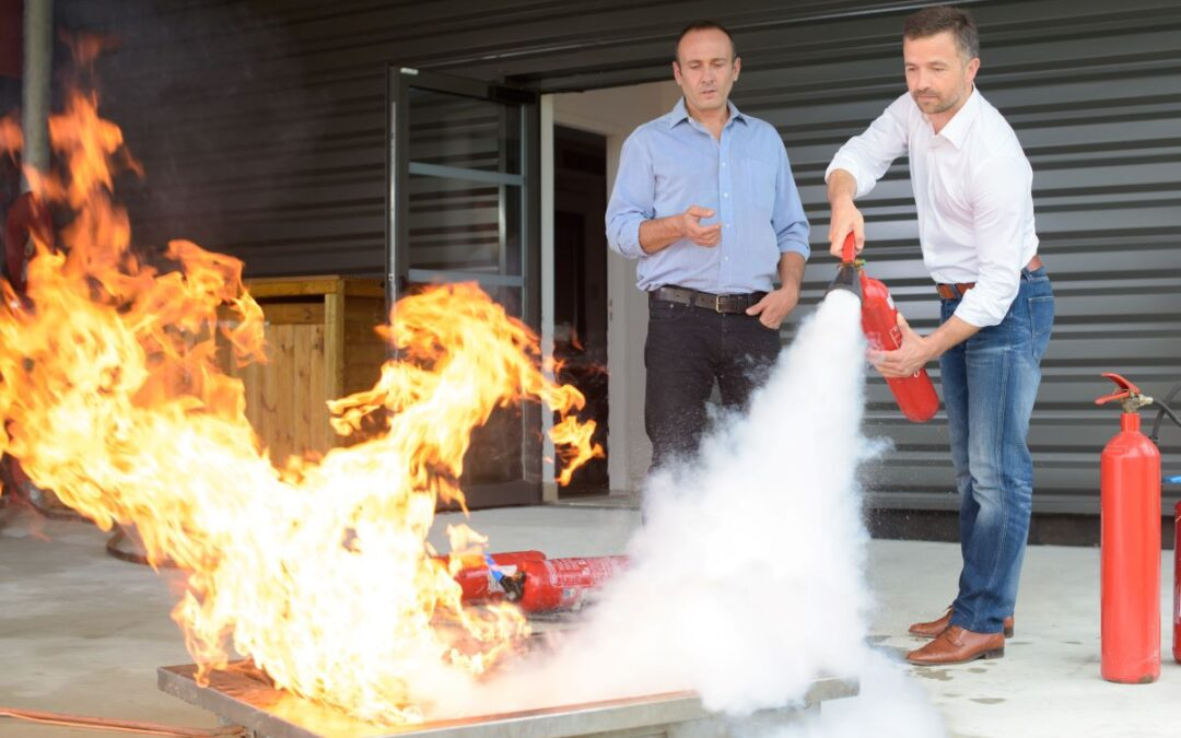 Can you use a fire extinguisher without training