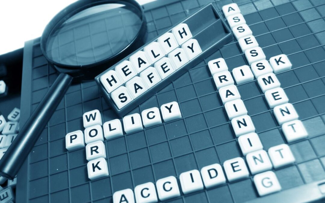 What does health and safety training include?